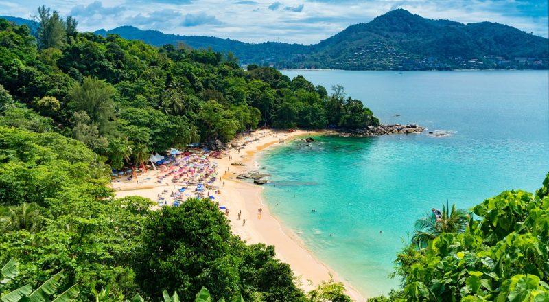 Ein schöner Strand in Phuket